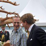 Jeroen Bouwmeester en Koning Willem-Alexander