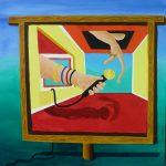 Schilderij Muziek