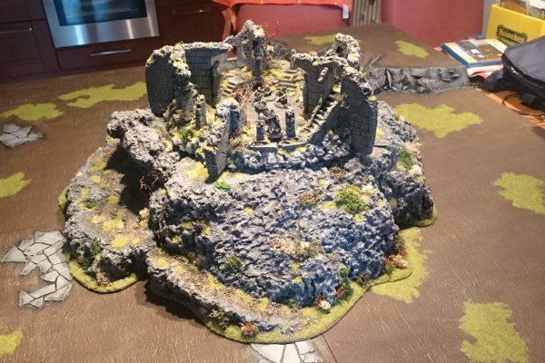 Maquette Weathertop - Geschilderde ruine